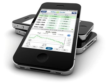 Mobile forex trade
