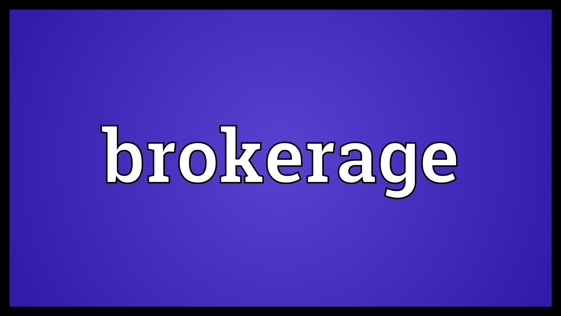 ECN Broker Definition
